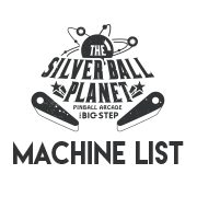 THE SILVER BALL PLANET MACHINE LIST